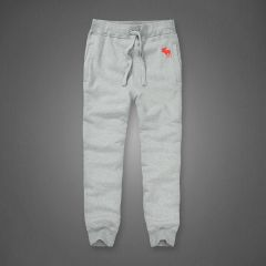 Abercrombie And Fitch Red Bull Logo Double-Knit Joggers