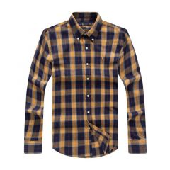 PRL  Custom  Designers Shirts For Men-Blue Yellow