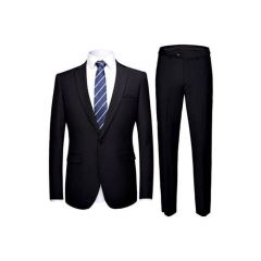Exclusive Casila Men's Classic Black Suit
