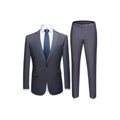 Exclusive Casila Men's Classic Grey Suit