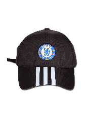 Adidas Chelsea FC 3-Stripes Cap Black