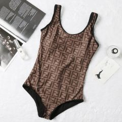 Fendi Roma One-Piece Comfortable Body Trimming Bikini