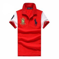 PRL Custom Fit Crown Big Pony 1967 Red polo Shirt