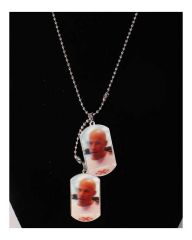 Double Vin Diesel stainless steel pendant  unisex necklace