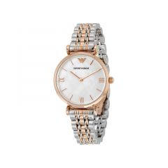 Emporio Armani Gold and Silver Mix Classic Women Watch