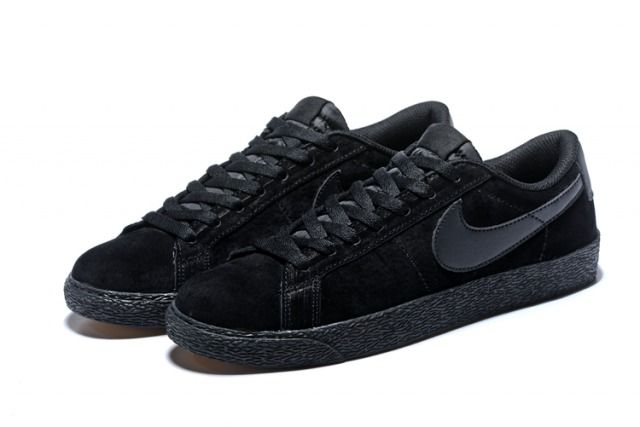 N A M SB Zoom Blazer Low Top Black