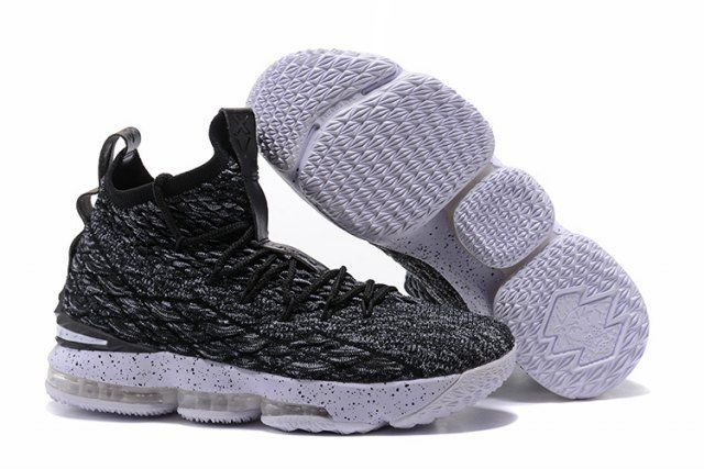 NK Lebron 15 XV Oreo James Trainers Men's Basketball Shoes