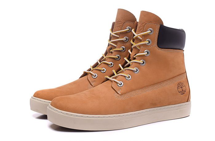 Timberland High Cut Boots Man Shoes Sneakers Wheat White Black