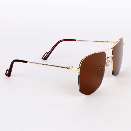 Christian Dior Luxury Hand Crested Brown Lens Sunglasses