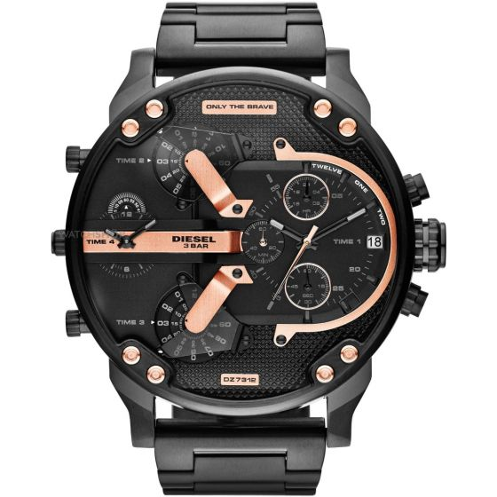 DIESEL DZ-7312 BLACK CHRONOGRAPH DATE DIAL MEN'S WATCH