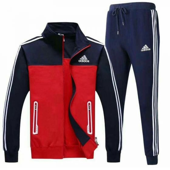 Adidas Performance TIRO 15 - Tracksuit Dual Color – Red/ Navyblue