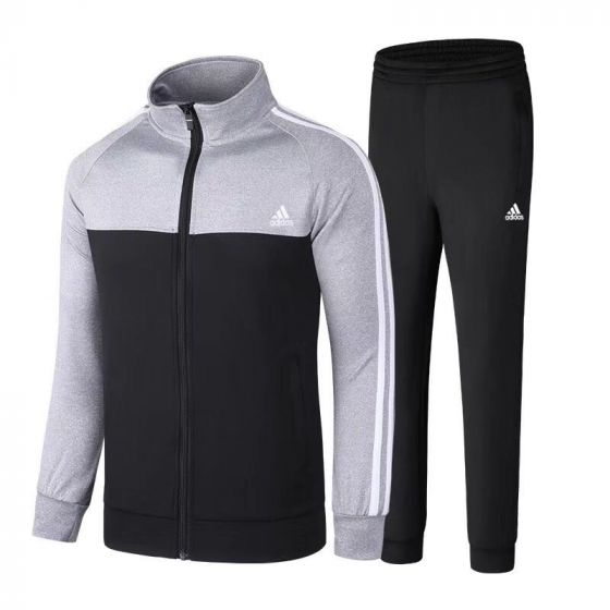Adidas Performance Men's Grey and Black Tiro Tracksuits