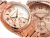 Michael Kors MK5263 Unisex Blair Rose Gold Tone Chronograph Watch