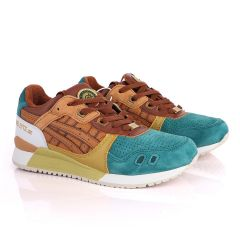 Asicstiger Gel - Lyte III Green Brown Gold Men's Sneakers