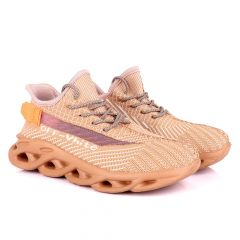 Ad Off white Classic Brown Sneakers