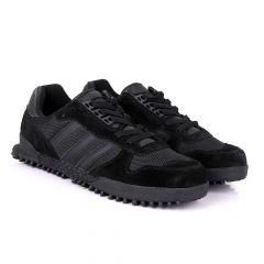 Ad Simplified Fabric Black Sneakers