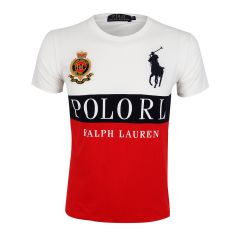PRL Boldly Crested Dry-Fit Red T-shirt