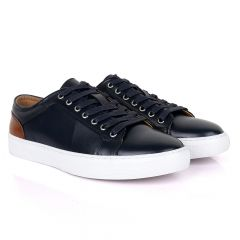 Terry Taylors Oxford Classic Blue and Brown Mix Sneaker Shoe