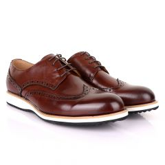 Terry Taylors Classic Oxford Brown Leather shoe