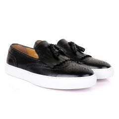 Terry Taylors Exotics Lashes Tassel Sneakers Shoe