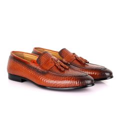 Berluti Tassel Leather  Men's Shoe-Brown