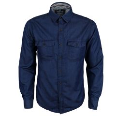 Bajieli Riggs Workwear Men's Denim Work Shirt