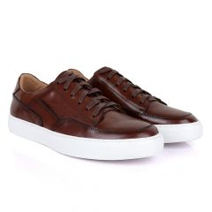 Terry Taylors Cooperate Oxford Brown Sneaker Shoe