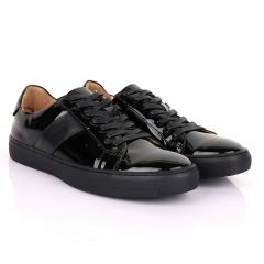 Terry Taylors Oxford Glossy Black Sneakers shoe