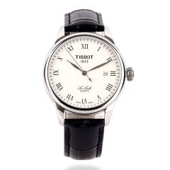 Tissot Lelode Powermatic 80 Automatic Black Leather Watch