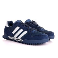 Ad Simplified Fabric NavyBlue Sneakers