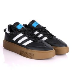 Adidas Lvy-Park Black And Green Sneakers