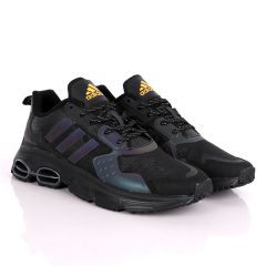 Adidas Sleek Men's Black Sneakers