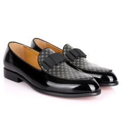 GC Patterned Leather Designed Loafers