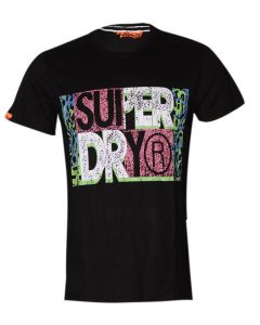 SuperDry Vintage Black Shortsleeve T-shirts