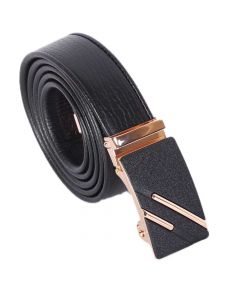 Designer casual Automatic Black Buckle Men's Belt