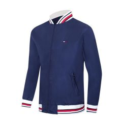 Tommy Hilfiger Men's Long Sleeve Navy Blue Track Jacket