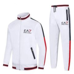 Emporio Armani Tracksuit With Full Zip - White