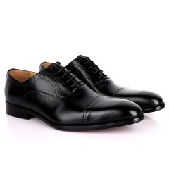 J.M Weston Premium Oxford Men' Shoe-Black