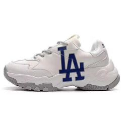 Dodgers Big Ball Chunky Lakers White Sneakers