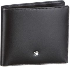 Mont Blanc Black Leather Wallet