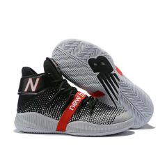 NB Omn1 Playoffs Nba Men Basketball Grey and Black Sneakers