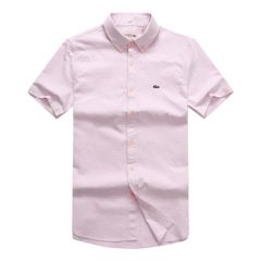 Lacoste Classic Pink Shortsleeve Shirt