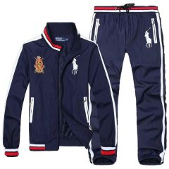 PRL Fashionable Big Pony Tailored Track Suit- NavyBlue