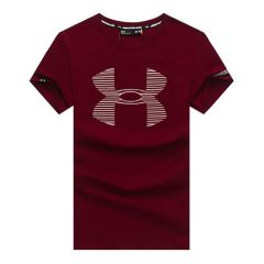 UA Branded Cotton Fit Red T-shirt